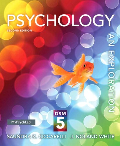 9780205979608: Psychology: An Exploration with DSM-5 Update (2nd Edition)