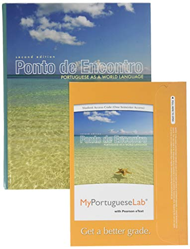 9780205980239: Ponto de Encontro: Portuguese as a World Language and MyPortugeseLab with eText and Access Card (2nd Edition)