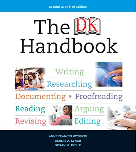 9780205982851: The DK Handbook, Second Canadian Edition (2nd Edition)