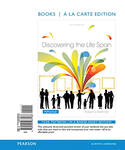 9780205983186: Discovering the Life Span, Books a la Carte Edition (3rd Edition)