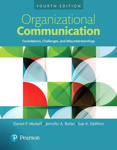 Organizational Communication 4 ed