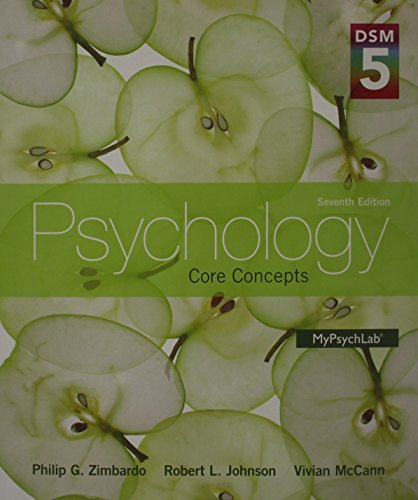 9780205985449: Psychology: Core Concepts with DSM-5 Update Plus NEW MyPsychLab with Pearson eText -- Access Card Package (7th Edition)