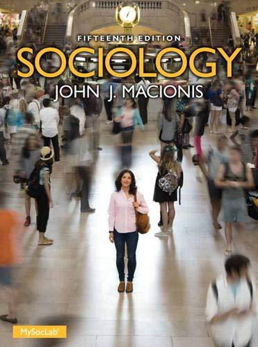 Sociology (15th Edition): Macionis, John J.