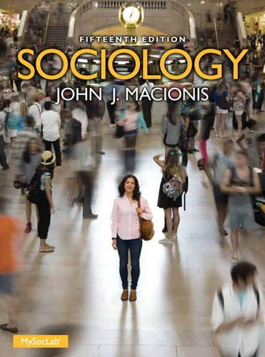 Sociology (w/out MySocLab Access Card)