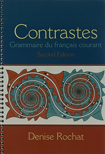 9780205985753: Contrastes: Grammaire du français courant & MyLab French with Pearson eText -- Access Card -- for Contrastes: Grammaire du français courant (multi semester access) Package