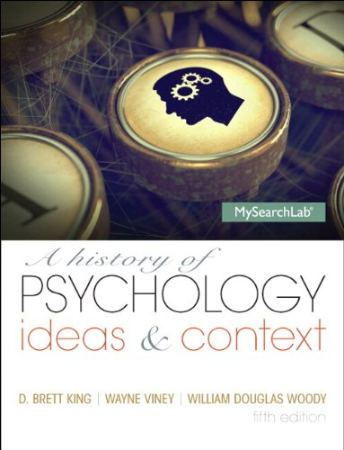 9780205987184: A History of Psychology: Ideas & Context Plus NEW MySearchLab with eText -- Access Card Package (5th Edition)