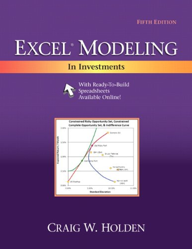 9780205987245: Excel Modeling in Investments