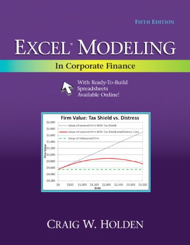 9780205987252: Excel Modeling in Corporate Finance (5th Edition)
