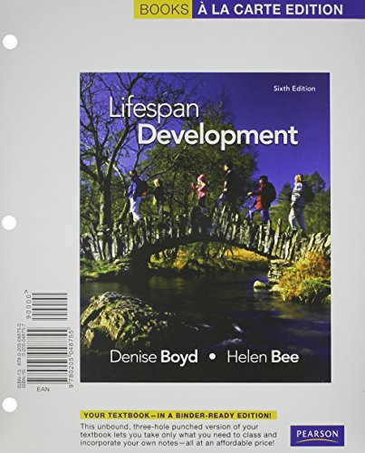 9780205987818: Lifespan Development, Books a la Carte Plus NEW MyPsychLab with Pearson eText -- Access Card Package (6th Edition)