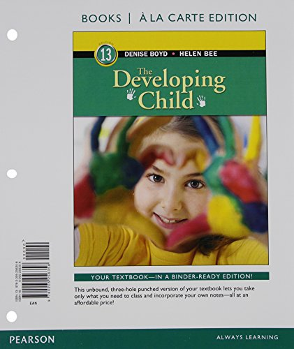 9780205987849: Developing Child, The, Books a la Carte Plus NEW MyPsychLab with Pearson eText -- Access Card Package (13th Edition)