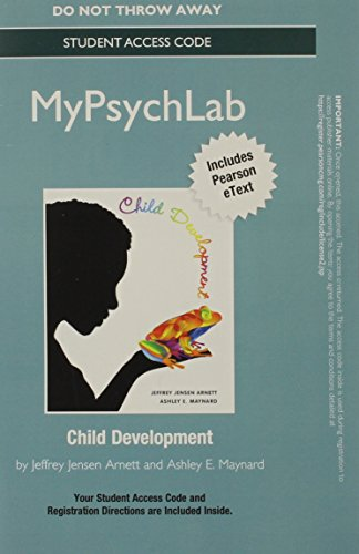 9780205987979: NEW MyPsychLab with eText -- Standalone Access Card -- for Child Development: A Cultural Approach (STUDENT CASE VERSION)