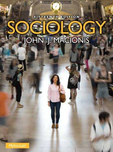 Sociology MySocLab -- (15th Edition) (Macionis Sociology