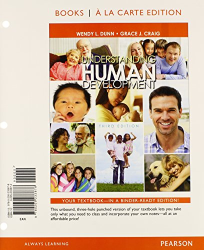 9780205989515: Understanding Human Development, Books a la Carte Plus NEW MyPsychLab with eText -- Access Card Package (3rd Edition)