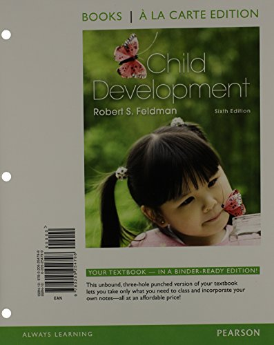 9780205989539: Child Development, Books a la Carte Plus NEW MyPsychLab with eText -- Access Card Package (6th Edition)