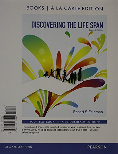 9780205990054: Discovering the Life Span, Books a la Carte Plus NEW MyPsychLab with eText -- Access Card Package (2nd Edition)