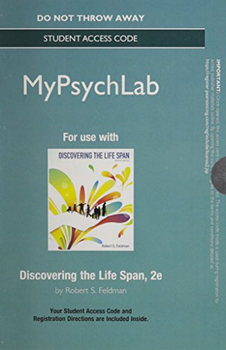 9780205990313: NEW MyPsychLab - Standalone Access Card - for Discovering the Life Span (2nd Edition)