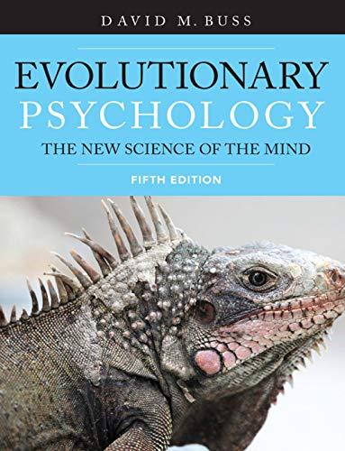 Evolutionary Psychology: Buss
