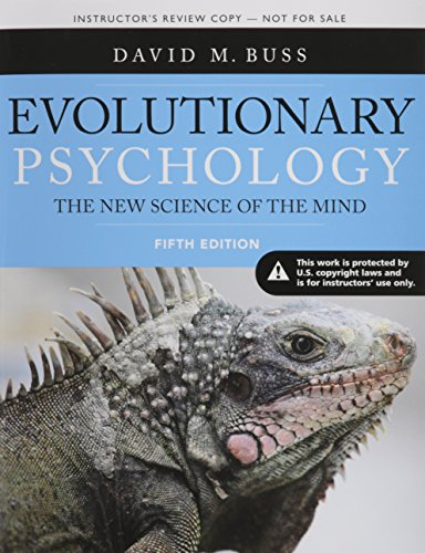 9780205992195: Evolutionary Psychology: The New Science of the Mind, Fifth Edition