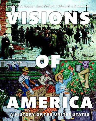 9780205994366: 2: Visions of America: A History of the United States, Volume Two (3rd Edition)