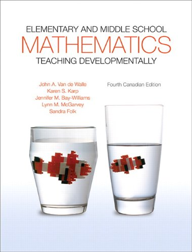9780205997022: Elementary and Middle School Mathematics: Teaching Developmentally, Fourth Canadian Edition, Loose-leaf Version with Video- Enhanced Pearson Etext -- Access Card Package ( 4th Edition ) [Loose Leaf]