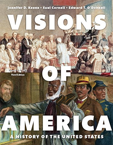9780205997107: 1: Visions of America: A History of the United States, Volume One (3rd Edition)