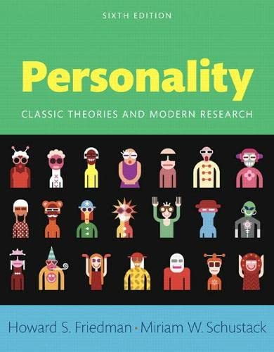 9780205997930: Personality: Classic Theories and Modern Research, Books a la Carte Edition (6th Edition)