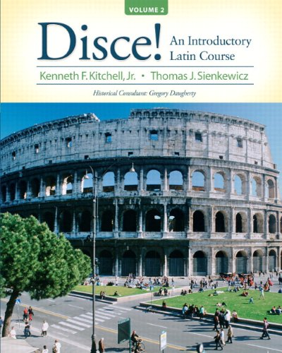 9780205998456: Disce! An Introductory Latin Course, Volume 2 Plus MyLatinLab (multi semester access) with eText -- Access Card Package