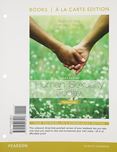 9780205998913: Human Sexuality Today, Books a la Carte Edition (8th Edition)