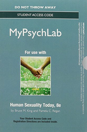 9780205998982: NEW MyPsychLab without Pearson eText -- Standalone Access Card -- for Human Sexuality Today (8th Edition)