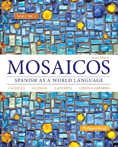 9780205999378: Mosaicos Volume 1 (6th Edition) - (Standalone Book)