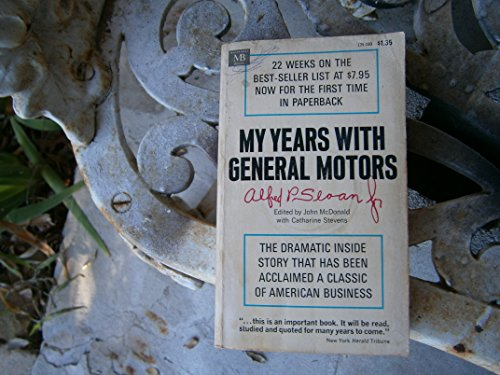 9780206140700: MY YEARS WITH GENERAL MOTORS.