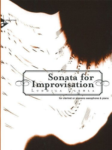 Sonata for Improvisation - clarinet in Bb: Ulehla, Ludmila