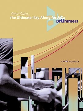 9780206303389: The Ultimate Play Along for Jazz Drummers (Book & 3 CDs)