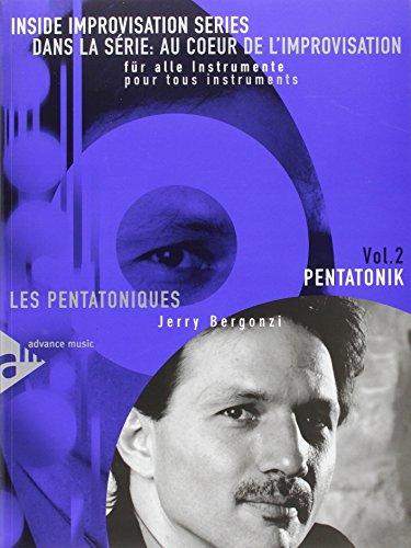 9780206303693: Pentatonik/m. CD: Melodie-Instrumente (C, B, Es, Bass-Schl�ssel). Lehrbuch mit CD. Inside Improvisation Series