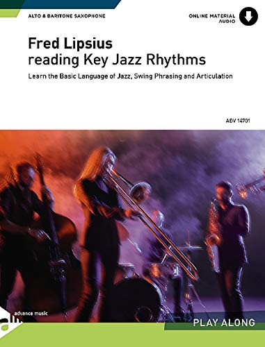 9780206303884: Reading Key Jazz Rhythms -- E-flat Alto and Baritone Saxophone: English/German Language Edition (Book & CD)