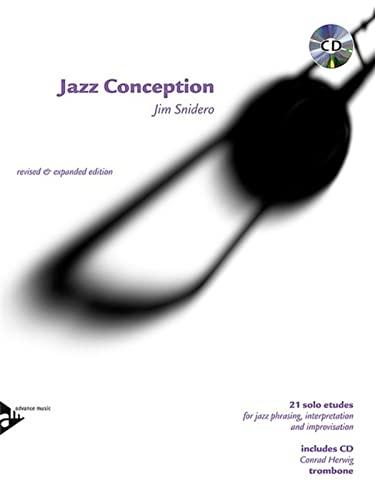 9780206304010: Jazz Conception: 21 solo etudes for jazz phrasing, interpretation and improvisation. Posaune