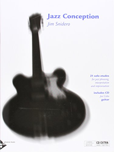 9780206304041: Jazz Conception -- Guitar: 21 Solo Etudes for Jazz Phrasing, Interpretation, and Improvisation (English/German Language Edition) (Book & MP3 CD)