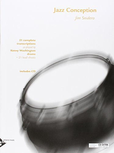 9780206304072: Jazz Conception for Drums - 21 complete transcriptions - Percussion - method with mp3 CD - [Language: English & German] - (ADV 14729)