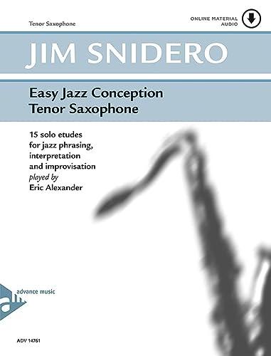 9780206304218: Easy Jazz Conception Saxophone +CD