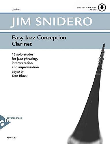 9780206304256: Easy Jazz Conception Clarinet: 15 solo etudes for jazz phrasing, interpretation and improvisation. Klarinette