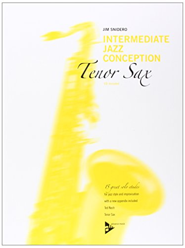 9780206304362: Intermediate Jazz Conception -- Tenor Sax: 15 Great Solo Etudes (English/German Language Edition) (Book & CD)