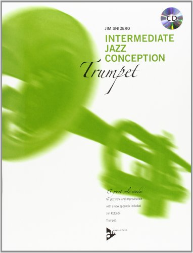 9780206304379: Intermediate Jazz Conception -- Trumpet: 15 Great Solo Etudes (English/German Language Edition) (Book & CD)
