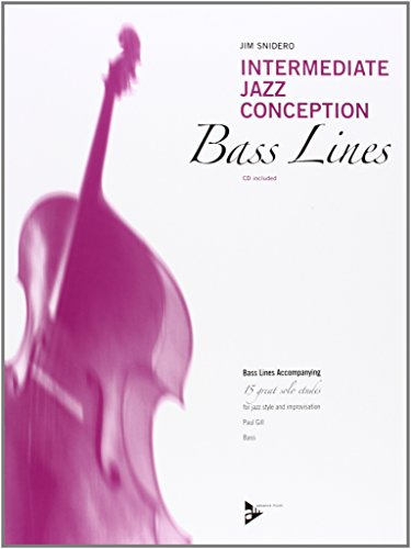 9780206304430: Intermediate Jazz Conception Bass Lines: Bass Lines Accompanying. Bass