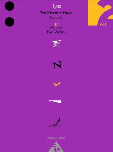 9780206306601: Ten Klezmer Duos Vol. 2 Violons
