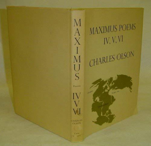 Maximus Poems IV, V, VI: Olson, Charles