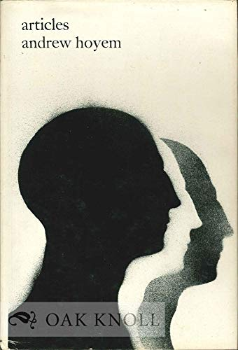 Articles: poems, 1960-1967: Hoyem, Andrew