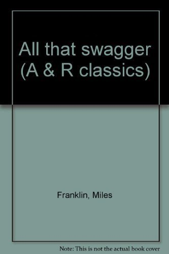 9780207130182: All that swagger (A & R classics)