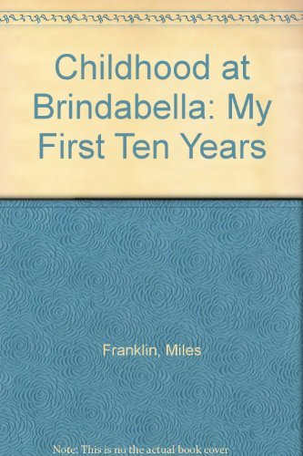 9780207144028: Childhood at Brindabella: My First Ten Years