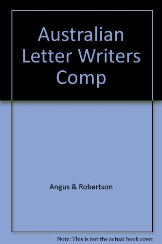 9780207156175: Australian Letter Writers Comp