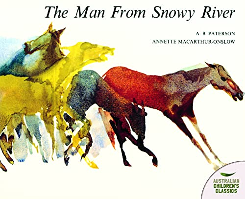 The Man from Snowy River (Picture bluegum)